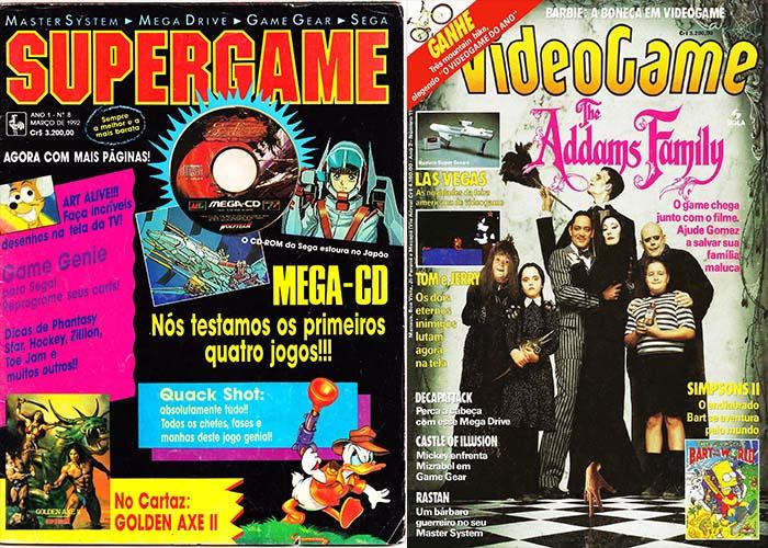 As Velhas e Boas revistas.