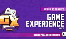 Game Experience Brazil reúne diversos especialistas em evento online gratuito de desenvolvimento de jogos