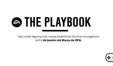The Playbook: Curiosidades e Estatísticas dos jogadores da EA no primeiro trimestre de 2016