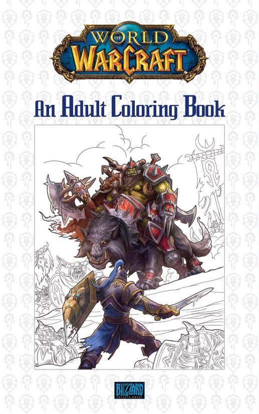 2016-Adult-Coloring-Book_Blizzard-Publishing-Marketing-Games