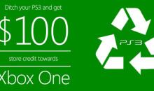 Campanha: Deixe-nos reciclar seu PS3!  Pode ser um tiro no pé da Microsoft