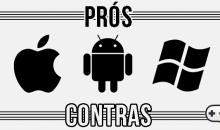 Prós e contras no desenvolvimento de apps para Android, iOS e Windows Phone