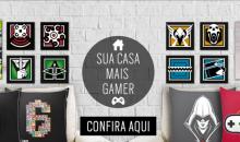 """Ubisoft lança no Brasil sua loja oficial """"Ubi Workshop' com produtos premium oficiais das principais franquias"""